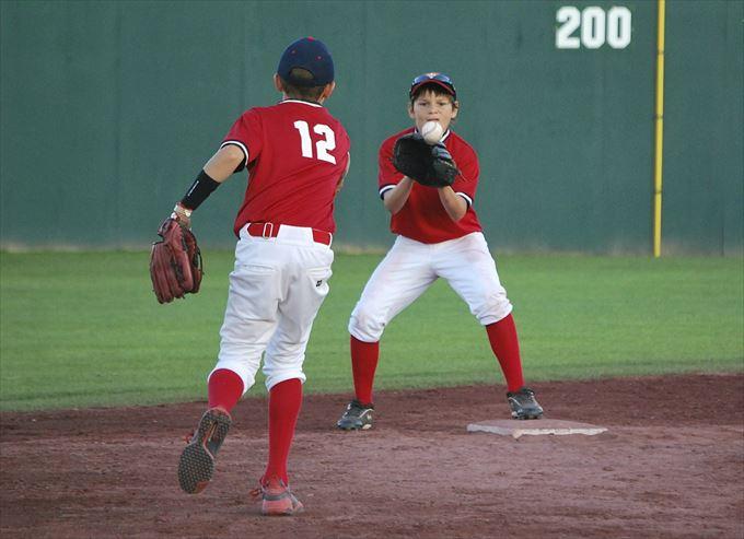 少年野球の初心者指導は徐々に厳しく
